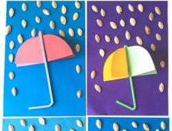 آموزش ساخت کاردستی باران