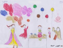 نقاشی ارسالی – زهرا ۶ ساله از تهران