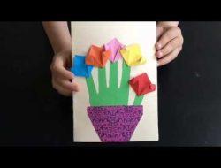 کاردستی ارسالی – محدثه ۷ ساله از اصفهان