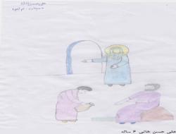 نقاشی ارسالی – علی حسن خانی ۶ ساله